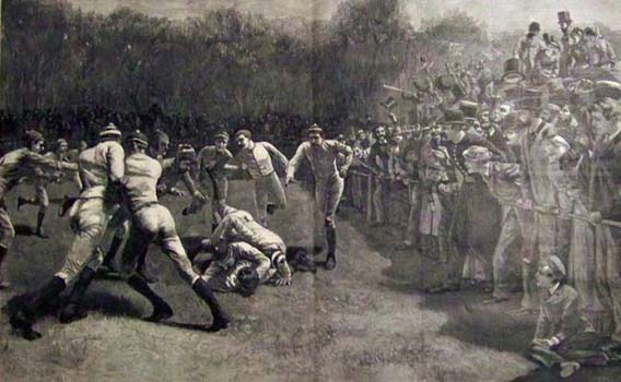 1880 Football Action