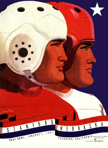 1941 Rose Bowl Program Cover