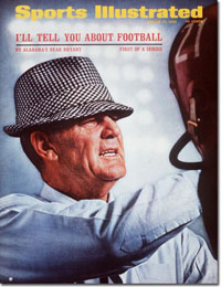 Sports Illustrated Cover for Bear Bryant Series