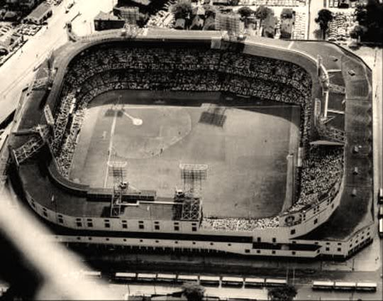 Briggs Stadium for 1941 All-Star Game