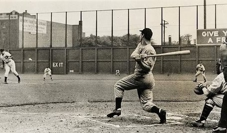 DiMaggio Hits in Game 56