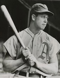 Athletics 1B Jimmie Foxx