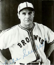 Browns Manager Luke Sewell