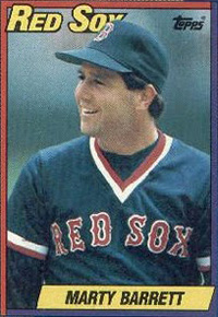 Marty Barrett, Red Sox