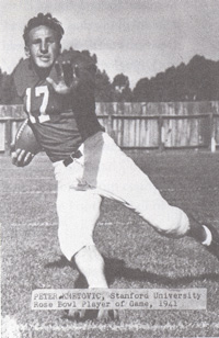 Pete Kmetovic, Stanford