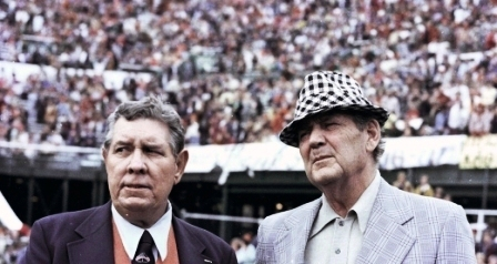 Shug Jordan and Bear Bryant