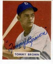 Tommy Brown, Dodgers