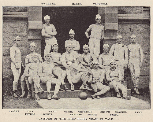Yale's First Rugby Team