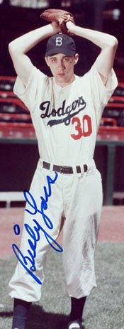 P Billy Loes, Brooklyn Dodgers