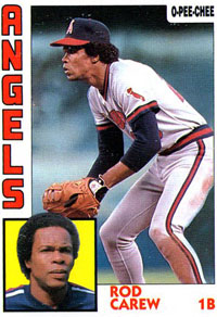 Rod Carew, Angels