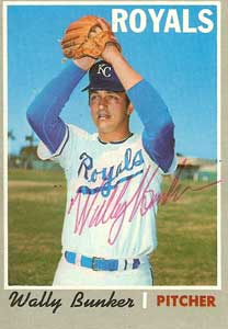 Royals P Wally Bunker