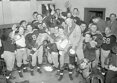 1944 champion Packers rejoice.