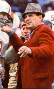 Alabama Coach Bear Bryant