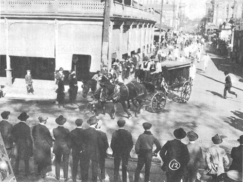 1919 LSU Funeral Procession