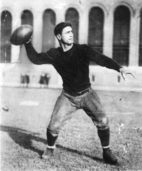 Giants QB Benny Friedman