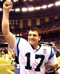 Panthers QB Jake Delhomme