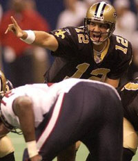 Saints QB Jake Delhomme